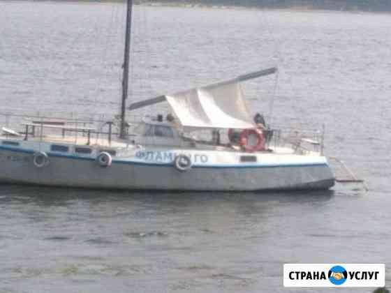 Прогулки на Яхте по Волге Балаково