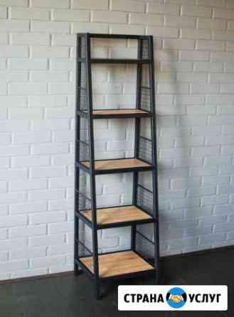 Изготовление мебели в стиле лофт Пермь