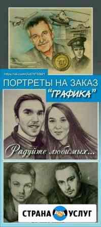 Портреты на заказ Сыктывкар