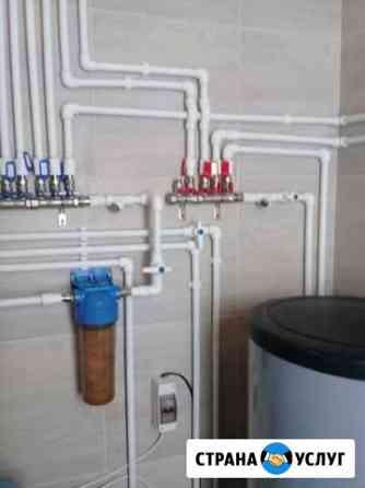 Электрика,сантехника,водоснабжение,отопление Москва