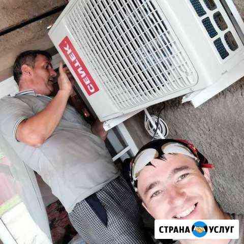 Монтаж установка сплит систем и кондиционеров Ростов-на-Дону