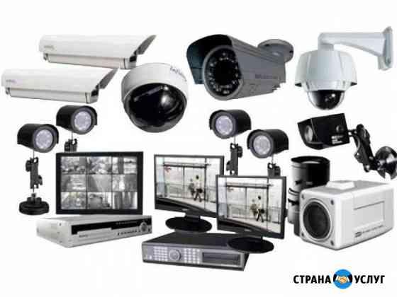 Системы видеонаблюдения монтаж Йошкар-Ола
