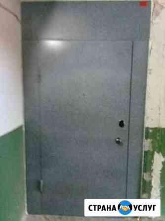 Металлические перегородки между этажей тамбурные д Омск