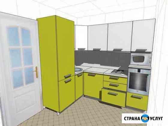 Установка и ремонт мебели (кухни, стенки, шкафы) Петрозаводск