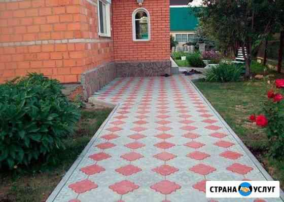 Укладка тротуарной плитки Курск