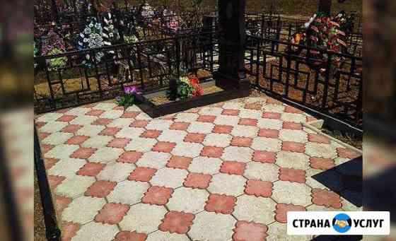 Благоустройство захоронений Брянск