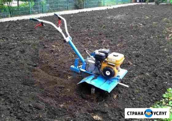 Вспашка земли мотоблоков Нижнекамск
