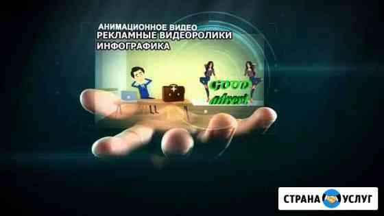 Рекламные видеоролики,инфографика Череповец