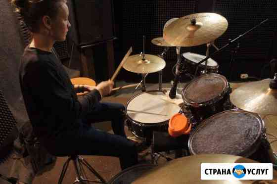 Занятия на барабанной установке Вологда