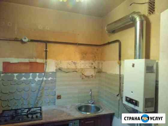 Установка газовых колонок,газовых счётчиков, котло Иваново