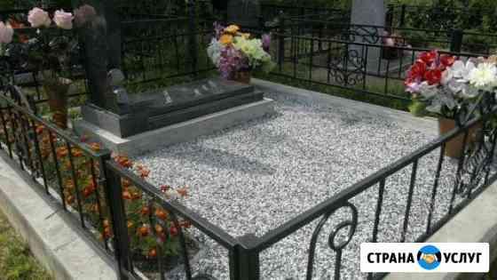 Благоустройство мест захоронения Хабаровск