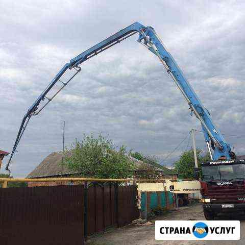 Услуги Бетононасоса подача бетона до 50м Старый Оскол