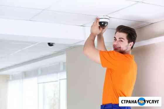 Установка и настройка системы видеонаблюдения Барнаул