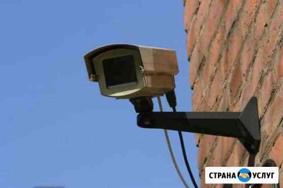 Установка видеонаблюдения Астрахань