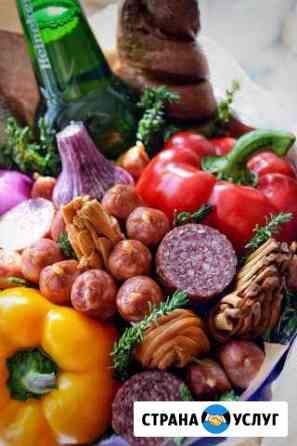 Мясные, фруктовые букеты для настоящих мужчин,фрук Улан-Удэ