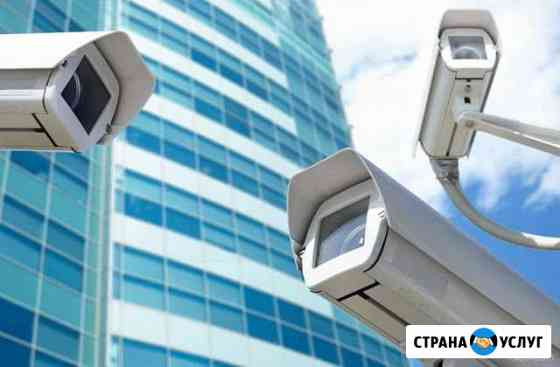 Монтаж обслуживание видеонаблюдения опс скд Тюмень