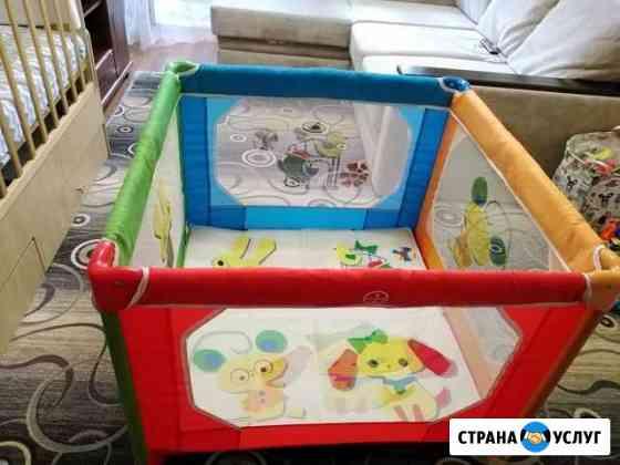 Сдам в аренду манеж-кровать Хабаровск