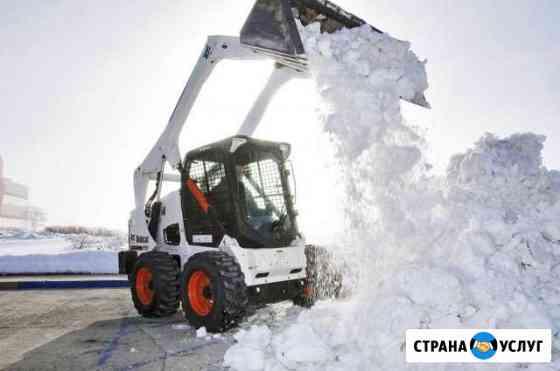 Bobcat. Вывоз. Расчистка снега Саратов