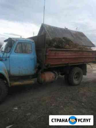 Привезу навоз, щебень,отсев,вывезу мусор, цена дог Чебаркуль