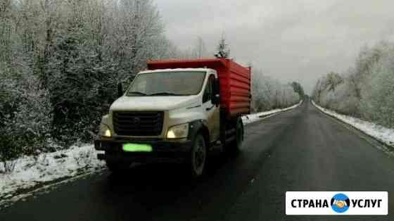 Доставка песка, вывоз строительного мусора Великий Новгород