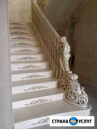 Лестницы из дерева Урус-Мартан