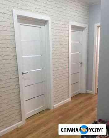 Установка межкомнатных дверей Тюмень