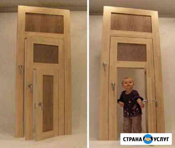 Установка дверей Сыктывкар