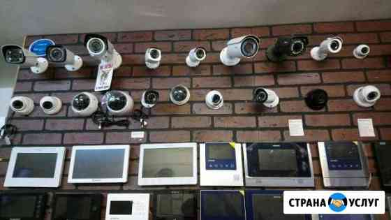 Видеонаблюдение, домофоны Клинцы