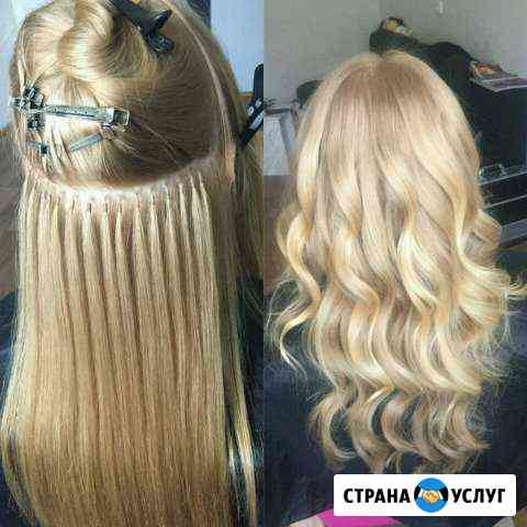 Наращивание волос, шеллак,все виды парикмахерских Вологда