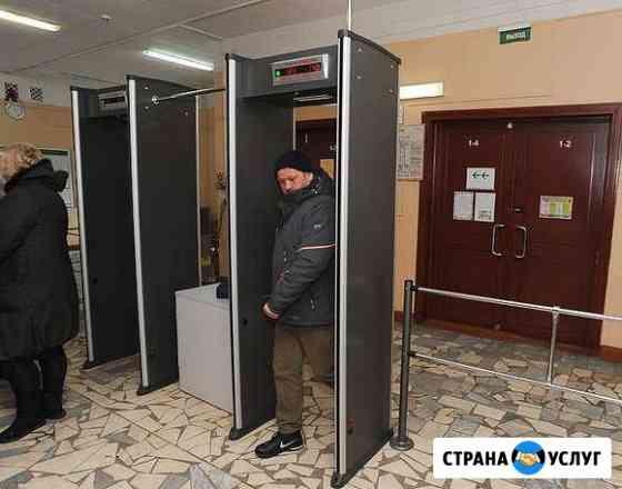 Монтаж металлодетектеров, турникетов, шлагбаумов Сыктывкар