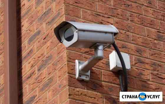 Монтаж видеонаблюдения, домофоов, GSM сигнализаций Лобня