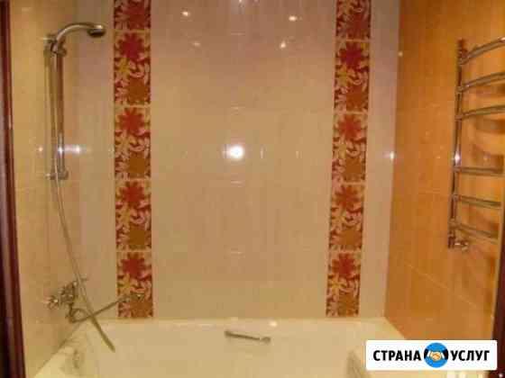 Ремонт ванных комнат и санузлов, укладка кафеля Сочи