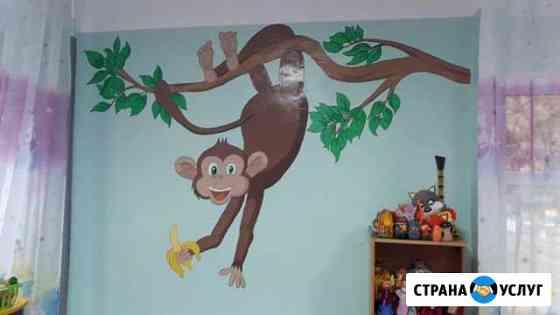Художественное оформление стен Иркутск