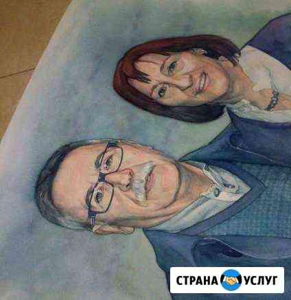 Портреты и шаржи по фотографии Санкт-Петербург