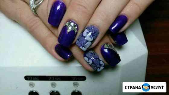 Маникюр, шеллак, наращивание ногтей Минусинск