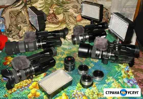 Видео и фото съёмки с двух ракурсов Краснодар
