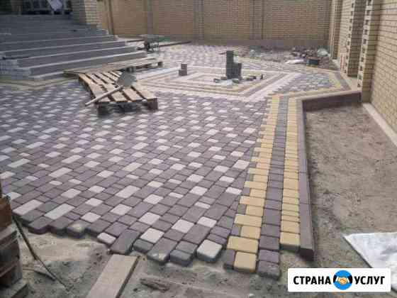 Укладка тротуарной плитки Таганрог