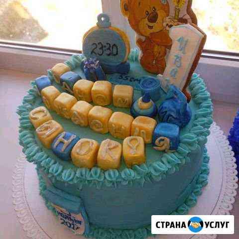 Домашние тортики на заказ Геленджик