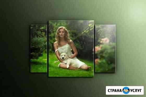 Фото на стекле Волгоград