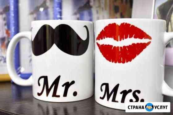 Печать на футболках/кружках/холстах Саранск