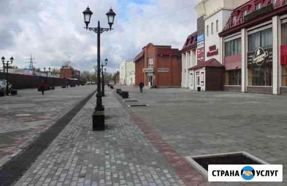 Укладка тротуарной плитки Барнаул