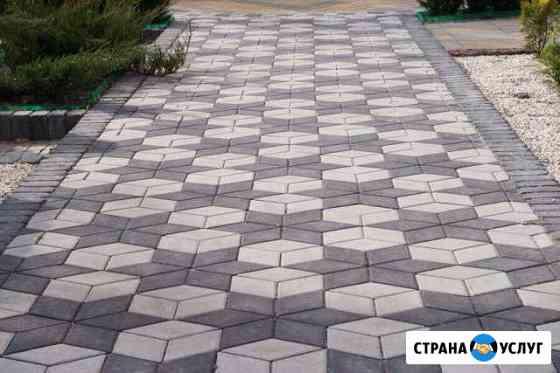 Укладка тротуарной плитки Санкт-Петербург
