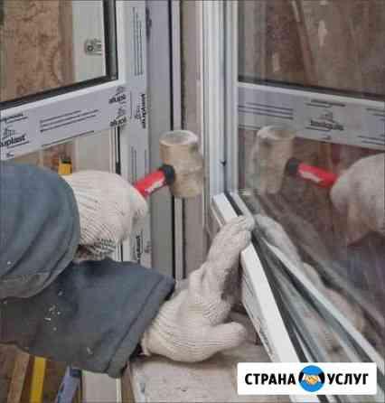 Монтаж конструкций пвх и Al(алюминиевых) Челябинск