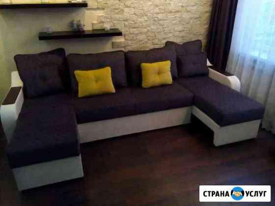 Перетяжка и ремонт мебели Переславль-Залесский