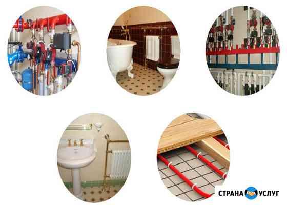 Монтаж отопления и водоснабжения Руза