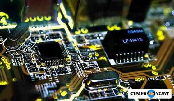 Профессиональный ремонт компьютеров ноутбуков видеокарт Новосибирск