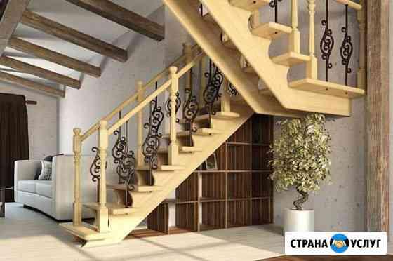 Изготовление и монтаж деревянных лестниц Брянск