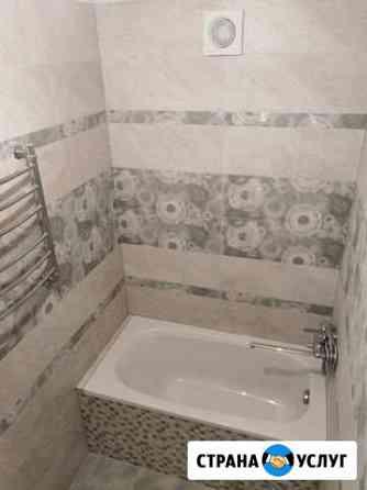 Ванные комнаты, санузлы - ремонт. Кафель Астрахань