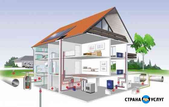 Отопление, Кондиционирование, ремонт бытовой техни Грозный