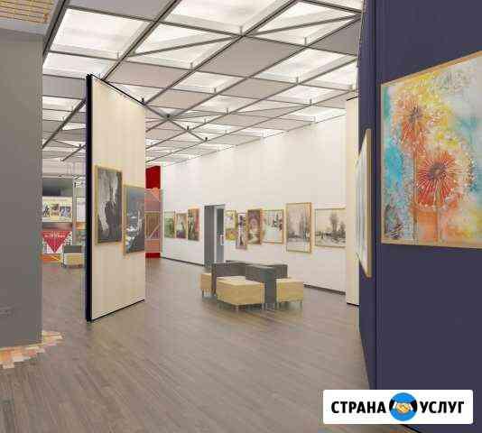 Дизайн 3D визуализация Наружная реклама Челябинск